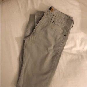 J.Crew 484 Slim Fit Twill Pants in Stone
